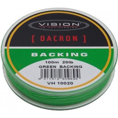 Podkład Dacron Backing Green Vision FlyFishing