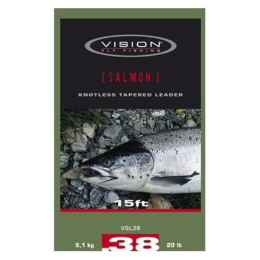 Materiały przyponowe Salmon Leader Vision FlyFishing