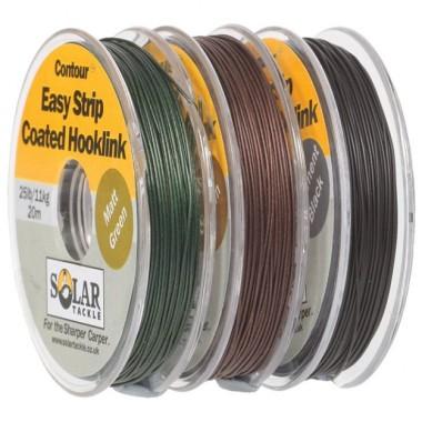 Linka przyponowa w otulinie Easy Strip Hooklink Solar