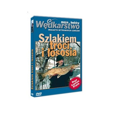 Płyta DVD Szlakiem Troci i Łososia