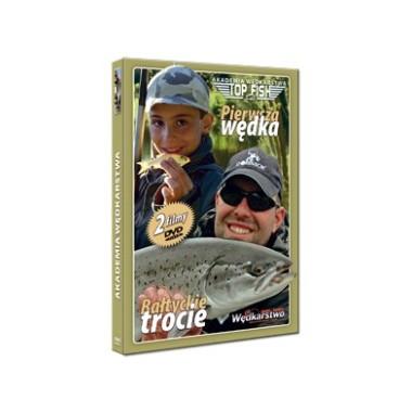 Płyta DVD Pierwsza Wędka + Bałtyckie Trocie