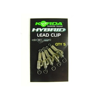 Klips zabezpieczający Hybrid Lead Clips Korda