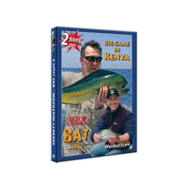 Płyta DVD Big Game in Kenya + Bat część 2