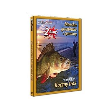 Płyta DVD Boczny trok + Morska gruntówka i spinning