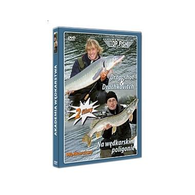 Płyta DVD Drop shot & Drachkovitch + Na wędkarskim poligonie