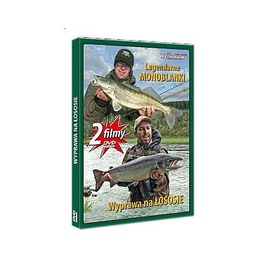 Płyta DVD Wyprawa na łososie + Legendarne monoblanki