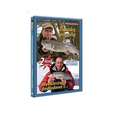 Płyta DVD Zimowy spinning + Wędkarstwo podlodowe cz. 2