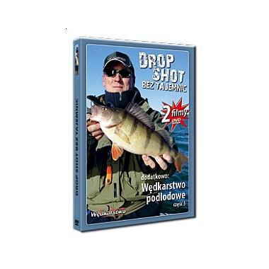 Płyta DVD Drop shot bez tajemnic + Wędkarstwo podlodowe cz. 3