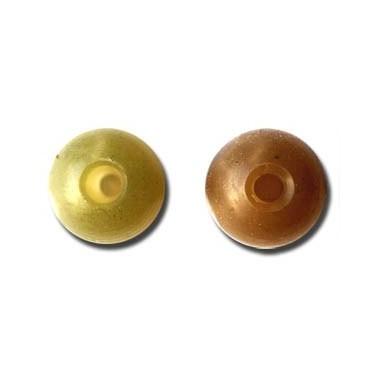 Gumowe kulki 6 mm Beads Solar