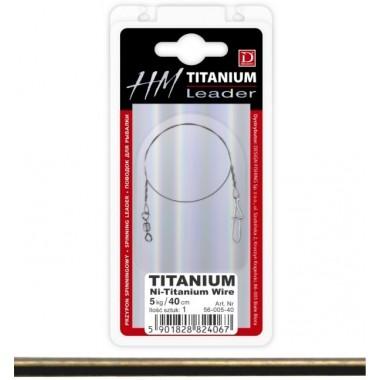 Przypon N-TITANIUM WIRE