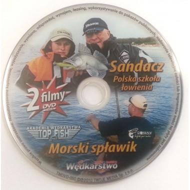 Płyta DVD Sandacz - polska szkoła łowienia + Morski spławik