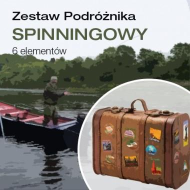 Zestaw podróżnika spinningowy