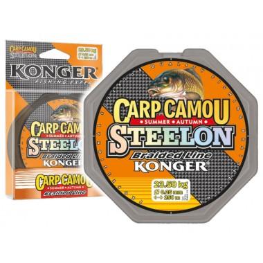 Plecionka STEELON Carp Camou Summer/Autumn