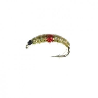 Mucha Hydropsyche Olive/Red