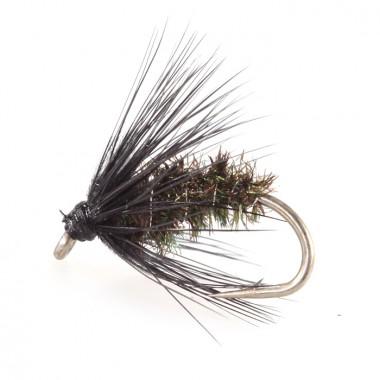 Mucha Black and Peacock Spider Taimen