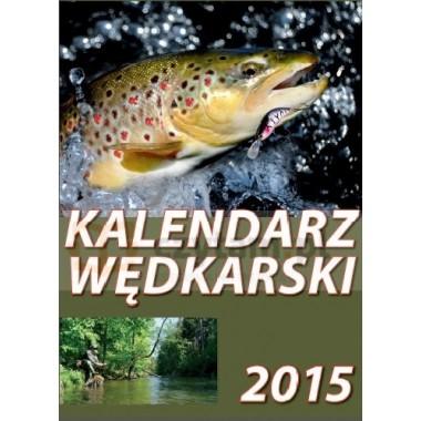 Kalendarz 2015. Wędkarski ścienny