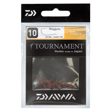 Haki Tournament na białego robaka Daiwa