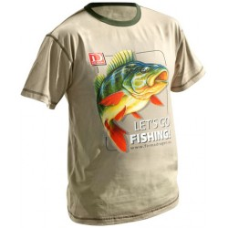 T-Shirt OKOŃ Let's Go Fishing
