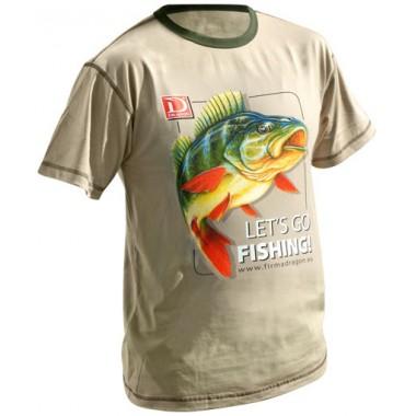 T-Shirt OKOŃ Let's Go Fishing Dragon