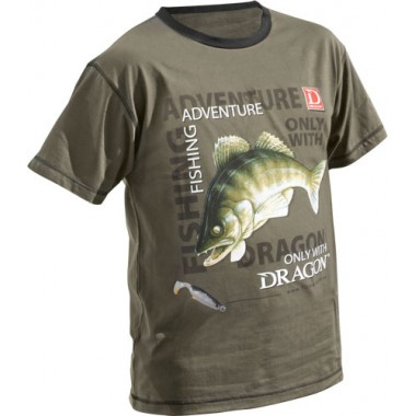T-Shirt SANDACZ Let's Go Fishing