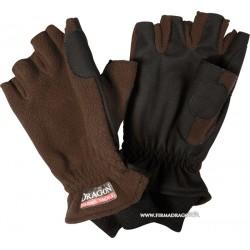 Rękawice polarowo-nubukowe
