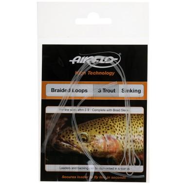 Żyłka muchowa Airflo Trout Braided Loops