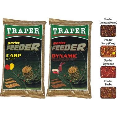 Zanęty Feeder Series 2,5kg Traper