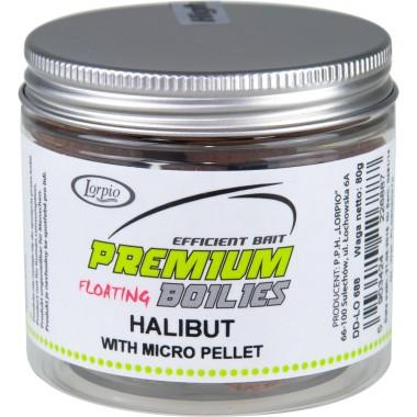 Kulki proteinowe pop- ups halibut with micro pelet