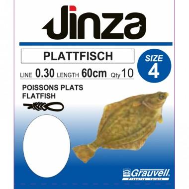 Haczyki z przyponem Plattfisch