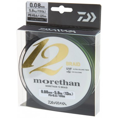 Plecionka Morethan 12 Braid Daiwa