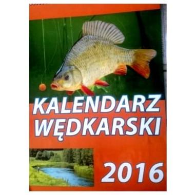 Kalendarz 2016. Wędkarski ścienny