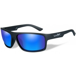 Okulary ACPEA09 – PEAK Polarized Blue Mirror, Matte Black Frame