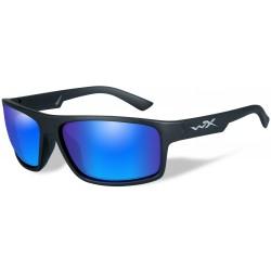 Okulary ACPEA09 – PEAK Polarized Blue Mirror, Matte Black Frame