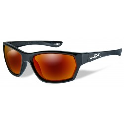 Okulary SSMOX05 - MOXY Polarized Crimson Mirror, Gloss Black Frame