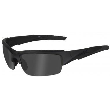 Okulary CHVAL08 - VALOR Polarized Smoke Grey, Matte Black Frame