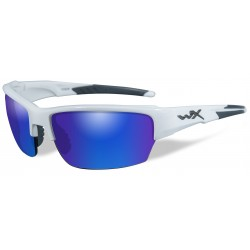 Okulary CHSAI09 - SAINT Polarized Blue Mirror, Gloss White Frame