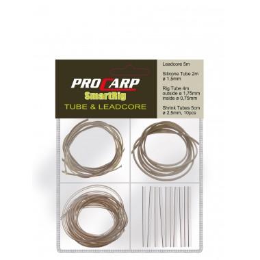 Zestaw rurek i materiałów przyponowych Pro Carp Leadcore