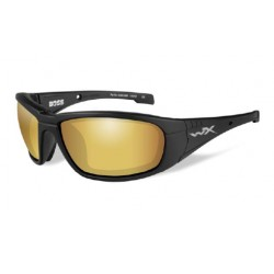 Okulary BOSS, Polarized Venice Gold Mirror / Matte Black