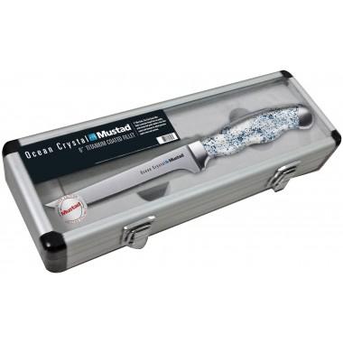 Nóż do filetowania w aluminiowym pudełku