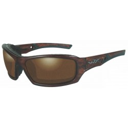 Okulary Echo Polarized Amber Matte Layered Tortoise Frame