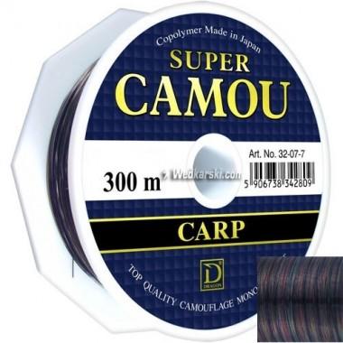 Żyłka Super Camou średnica: 0.28 mm, długość: 300 m