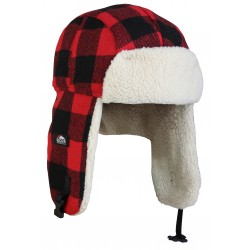 Czapka Fleece Korean Hat Black