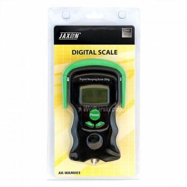 Waga elektroniczna, zakres 25kg, miarka 100cm, miernik temperatury Jaxon