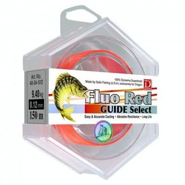 Plecionka GUIDE SELECT Fluo Red