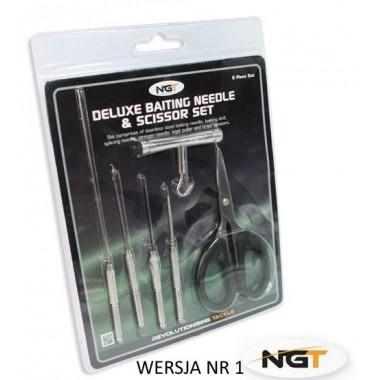Zestaw stalowych narzędzi karpiowych NGT