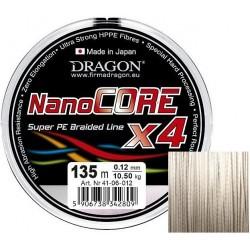 Plecionka Nano Core X4 jasnoszara