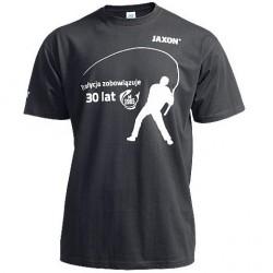 Koszulka czarna z wędkarzem