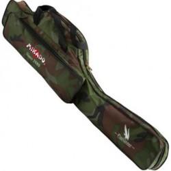 Pokrowiec wędkarski 2-komorowy camouflage