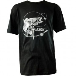 Koszulka czarna Sandacz UR-KB004