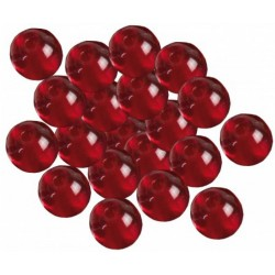 Koraliki Glass Beads czerwone